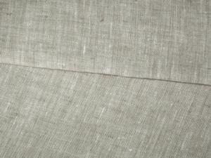Лён серый небелёный (ш150/пл180) лен-100%_0