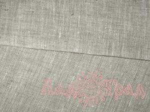 Лён серый небелёный (ш150/пл180) лен-100%_1