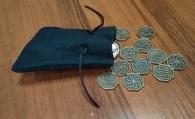Резы славянские, набор в мешочке, бронза