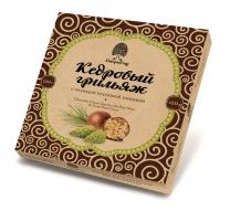Кедровый грильяж с сосновой шишкой в шоколадной глазури, 120 гр