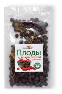 Плоды БОЯРЫШНИКА сушёные (цельные), 50 гр