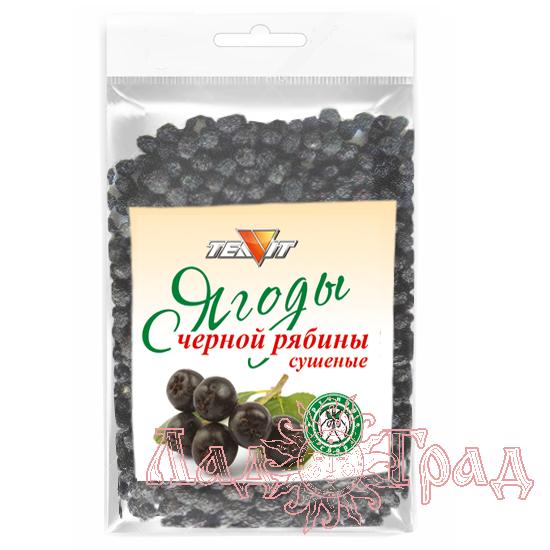 Ягоды РЯБИНЫ ЧЕРНОПЛОДНОЙ сушёные (цельные), 100 гр