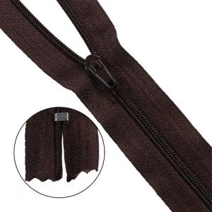 Молния брючная p/l Т4 - 16/2,8 см (917 тёмно-коричневый)