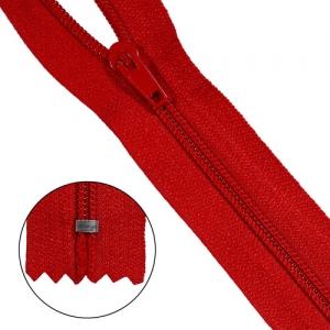 Молния брючная p/l Т4 - 20/2,8 см (519 красный)