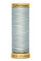 Нитки Гутерманн, х/б 100%, 100 м (7307) серые