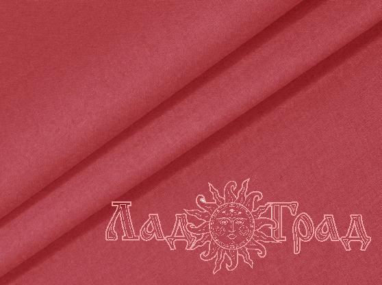 Бязь гладкокрашеная красная ш220/пл125