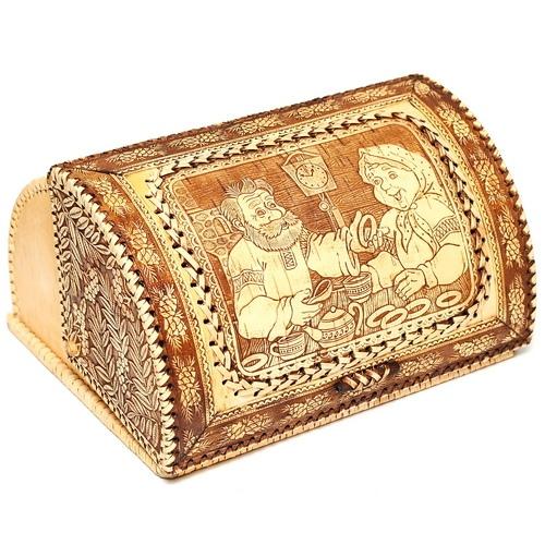 Хлебница большая береста