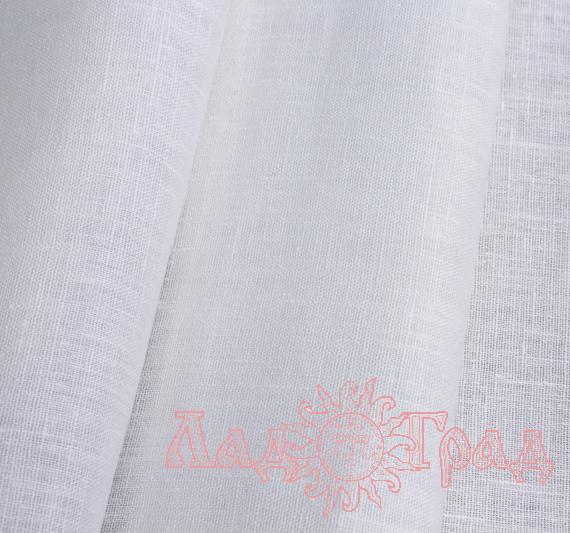 Лён костюмный белый (0/0), ш180/пл160