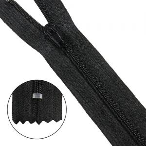 Молния брючная p/l Т4 - 22/2,8 см (580 чёрный)