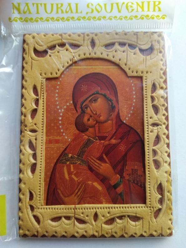Иконка в берестяной рамочке