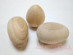 Яйцо деревянное для росписи 1шт.