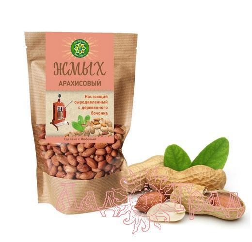 Жмых арахисовый сыродавленный, 300 гр