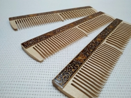 Расчёска деревянная_0