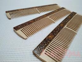 Расчёска деревянная_1