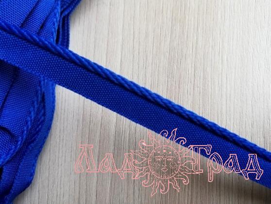 Кант отделочный 12/3мм синий васильковый