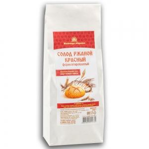 Солод ржаной красный ферментированный, 500 гр_0