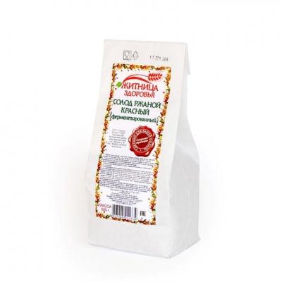 Солод ржаной ферментированный красный, 500 гр