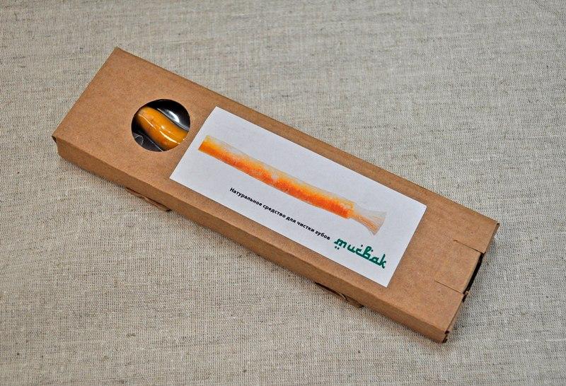 Палочка для зубов, Мисвак, 15 см, в картонной коробочке