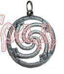 Змеевик  РУ-П2.067   D=30мм  (оберег, латунь)