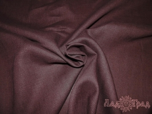 Лён сорочечный тёмный шоколад (0/235) ш150/пл150_1