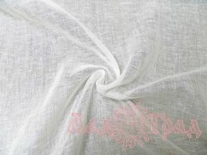 Хлопколён вуаль белый (0/0) ш160/пл80_1