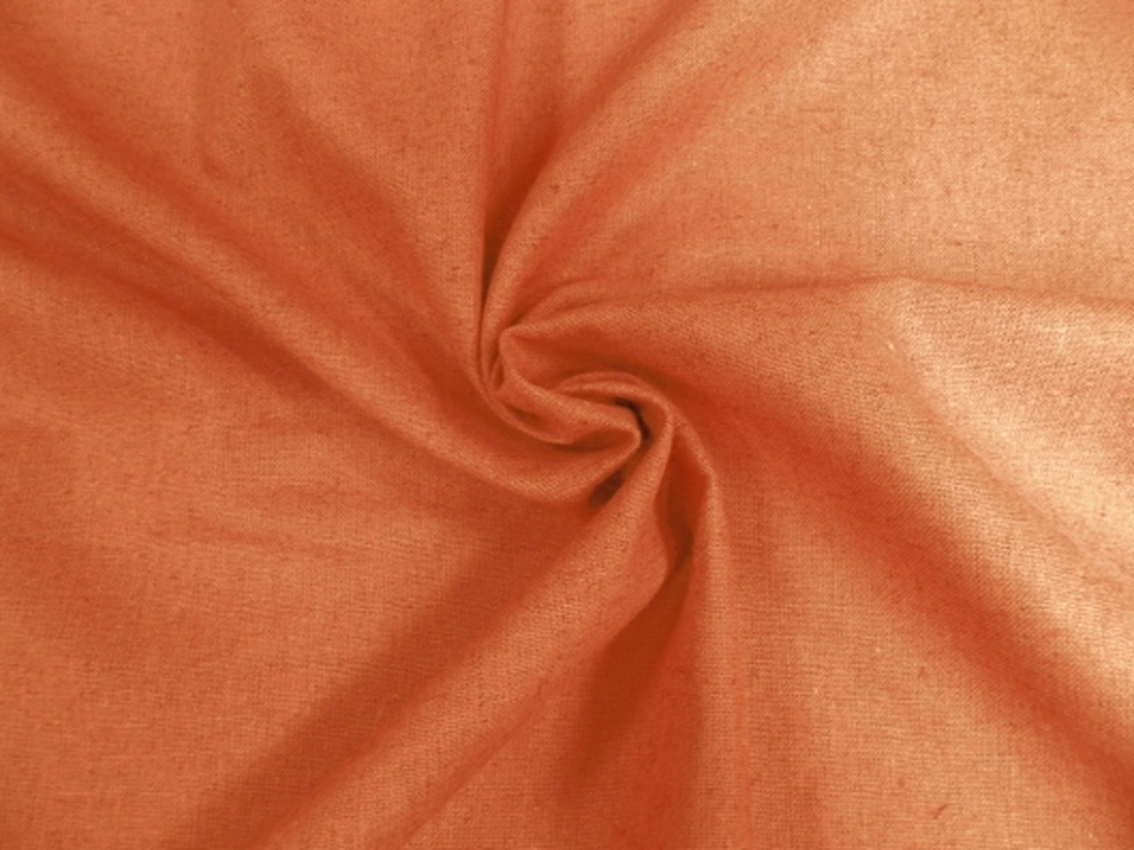 Хлопколён ОХРА оранжево-коричневый (0/417) ш150/пл180