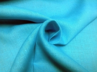 Лён костюмный бирюза (355), ш150/пл185, л-100%
