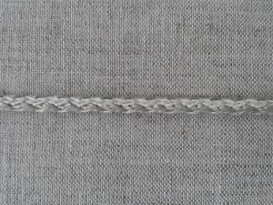 Шнур серый, х/б , 4 мм