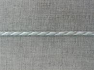 Шнур льняной, лён с белым, 5 мм
