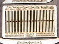 Бердо для ткачества, с рисунком, 60 нитей