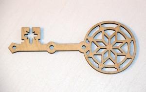 Алатырь-ключ деревянный, заготовка 15см