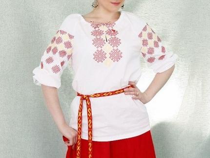 """Рубашка женская """"Ладушка"""" 42 рр"""