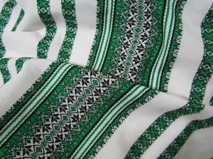 Ткань узорная АЛАТЫРЬ зелёная