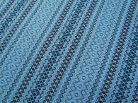 Ткань узорная ПРИБАВА голубая