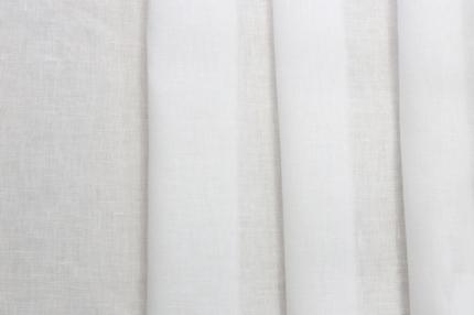 Лён белый отбел. постельный (101/0) ш220/пл145, л100%