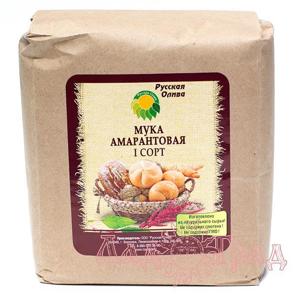 Мука амарантовая 1 сорт, 1 кг_1