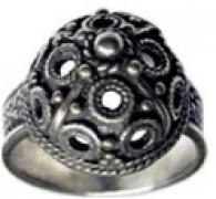 Кольцо Боярский    РУ-К1.019 (оберег, посеребрение)