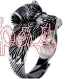 Кольцо Вепрь РУ-К2.013 (оберег, латунь)_1