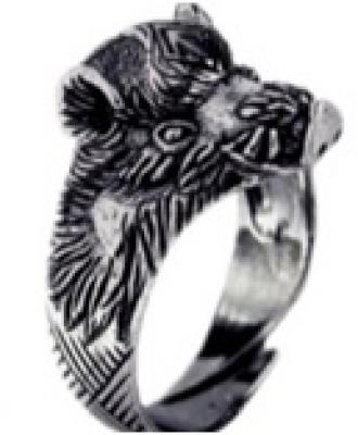 Кольцо Вепрь РУ-К2.013 (оберег, латунь)
