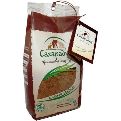 Сахар тростниковый Сахараджа, 450 гр.