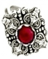 Кольцо Турицы   РУ-К3.026 (оберег, посеребрение)_0
