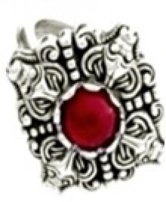 Кольцо Турицы   РУ-К3.026 (оберег, посеребрение)