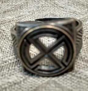 Кольцо Змеевик РУ-К2.054 (оберег, посеребрение)_1