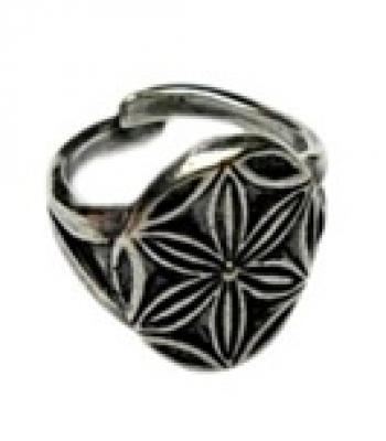 Кольцо Перуника   РУ-К1.003 (оберег, посеребрение)