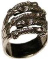Кольцо Грифы РУ-К1.006  малое (оберег, латунь)_0