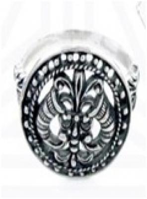 Кольцо Рога изобилия   РУ-К1.044 (оберег, посеребрение)