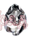 Кольцо Рысь РУ-К1.012 (оберег, посеребрение)_1
