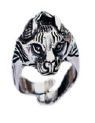 Кольцо Рысь РУ-К1.012 (оберег, посеребрение)
