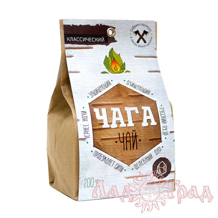 Чага-чай классический, 200 гр