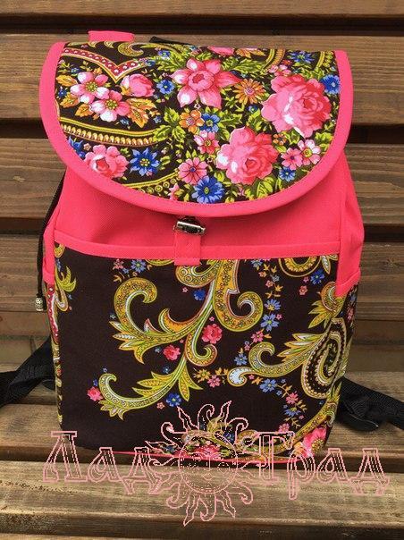 Рюкзак большой Славянский 38*36 см